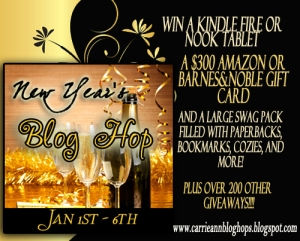 New Year's Blog Hop Prize