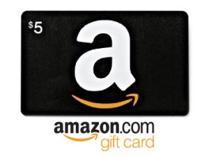 amazon gift card 5