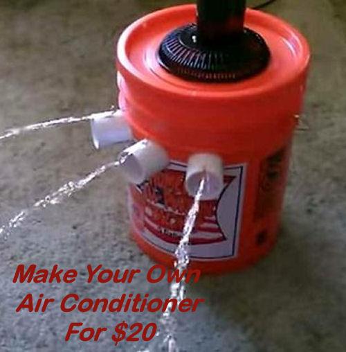 The 20 5 Gallon Bucket Air Conditioner Saga Part 1